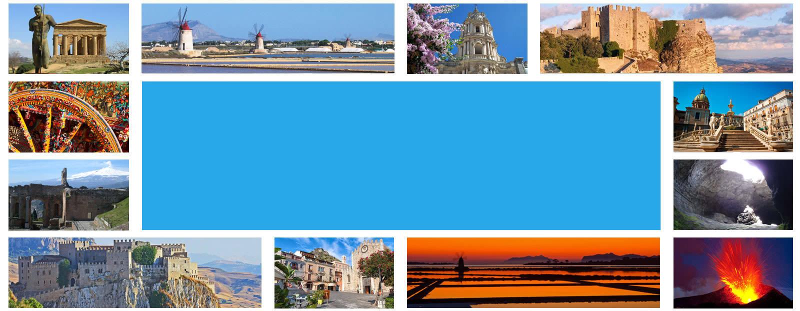 Cartina Della Sicilia Turistica.Itinerari E Tour Della Sicilia